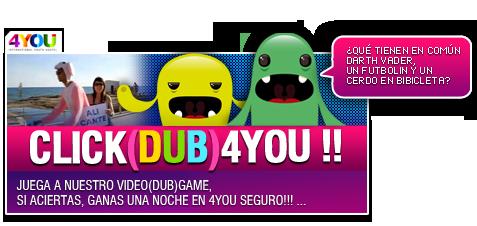 Concurso click dub 4you el blog del marketing for No puedo entrar en bankia oficina internet